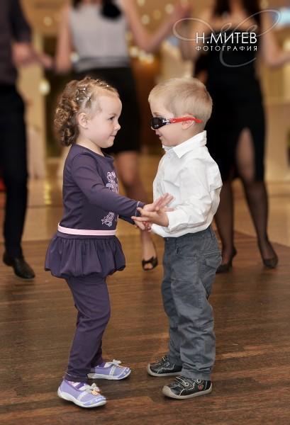 Деца на сватба