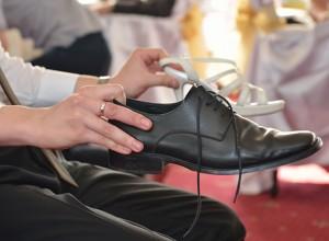 Игра с обувки