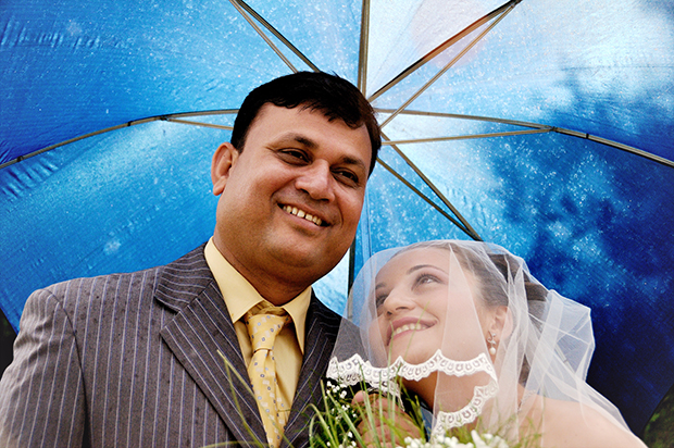 Снимка от една от първите ми сватби