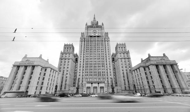 """Една от седемте сгради - """"Седемте сестри"""" на Сталин. Понастоящем министерство."""