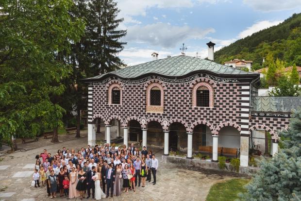 Гостите на сватбата