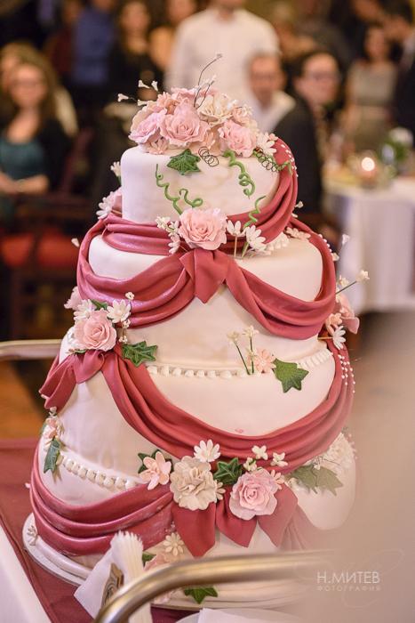 Сватбени торти по поръчка