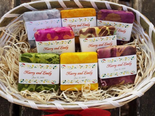 Сапуни - подаръчета за гостите на сватбата