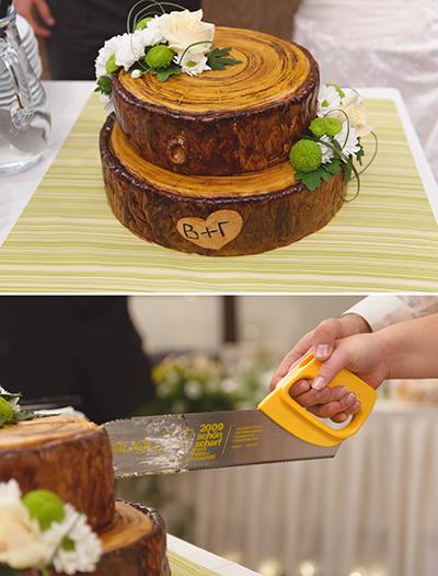Сватбена тортата от Фон Фон