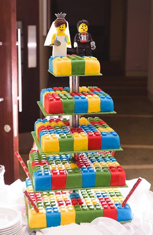 Сватбена торта лего