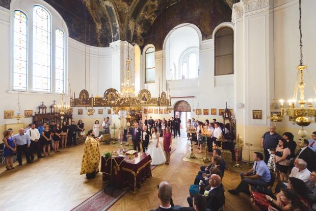 Интериор на църквата на семинарията