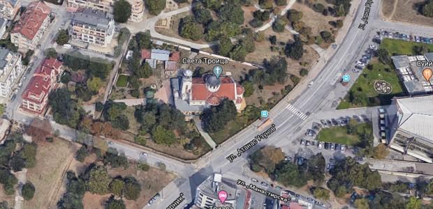 """Локация на църква """"Света Троица"""""""