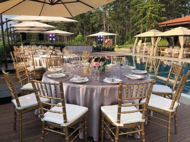 Градинска сватба на открито