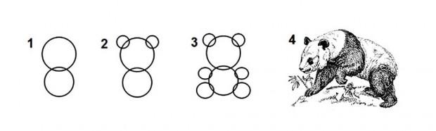 Рисуване на панди