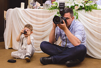 Mini wedding photographer